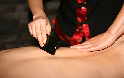 Traditional Chinese Gua Sha Treatment